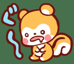 marron's pop animals sticker #116119