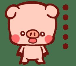 marron's pop animals sticker #116129
