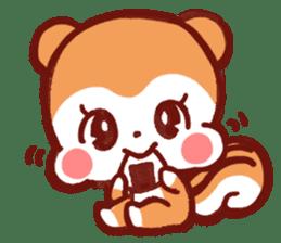 marron's pop animals sticker #116130