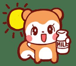 marron's pop animals sticker #116131
