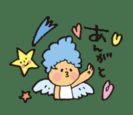 Angel stamp POP sticker #116173
