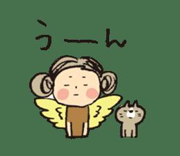Angel stamp POP sticker #116177