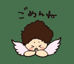 Angel stamp POP sticker #116191