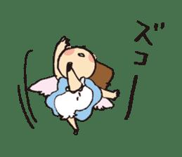 Angel stamp POP sticker #116194