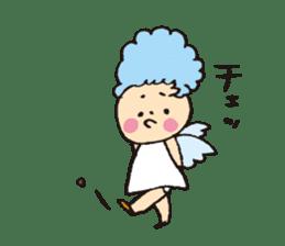 Angel stamp POP sticker #116196