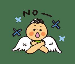 Angel stamp POP sticker #116204