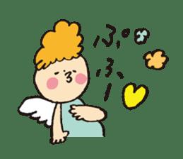 Angel stamp POP sticker #116206
