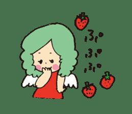 Angel stamp POP sticker #116207