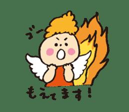 Angel stamp POP sticker #116209