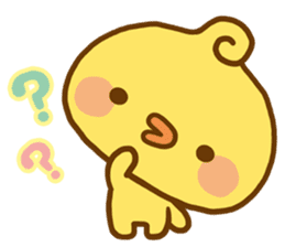 Relaxed Chic Piyomaru sticker #116254