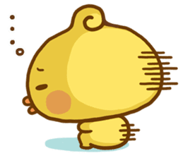 Relaxed Chic Piyomaru sticker #116262