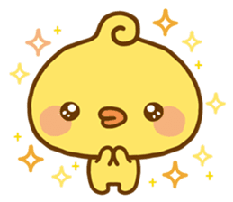 Relaxed Chic Piyomaru sticker #116267