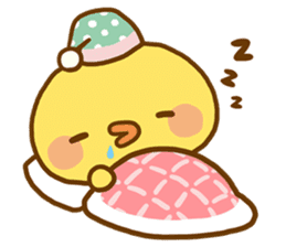 Relaxed Chic Piyomaru sticker #116275