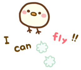 Relaxed Chic Piyomaru sticker #116279