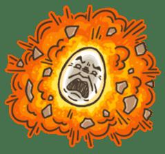 Boiling OSSAN Eggs! sticker #116476