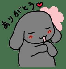 rabbit Woo-tan sticker #116520