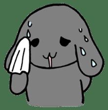 rabbit Woo-tan sticker #116521