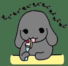 rabbit Woo-tan sticker #116523