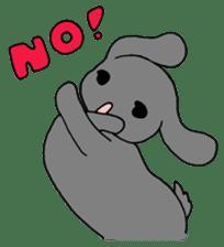 rabbit Woo-tan sticker #116526