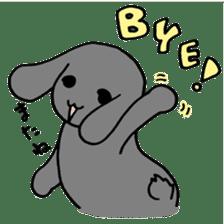 rabbit Woo-tan sticker #116530