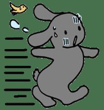 rabbit Woo-tan sticker #116531