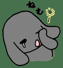 rabbit Woo-tan sticker #116532