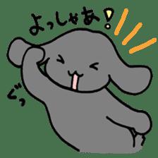 rabbit Woo-tan sticker #116533