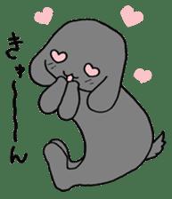 rabbit Woo-tan sticker #116535