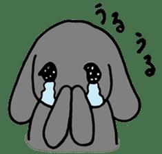 rabbit Woo-tan sticker #116537