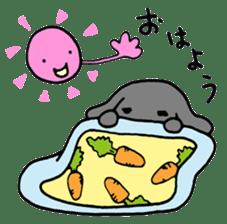 rabbit Woo-tan sticker #116538