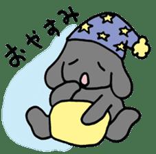 rabbit Woo-tan sticker #116539