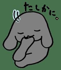 rabbit Woo-tan sticker #116546
