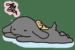 rabbit Woo-tan sticker #116550