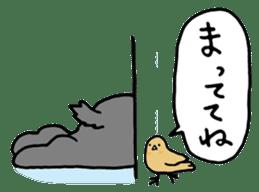 rabbit Woo-tan sticker #116555