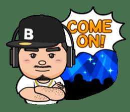 GO!GO! RIKKUN sticker #116596
