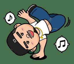 GO!GO! RIKKUN sticker #116599