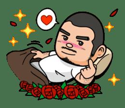 GO!GO! RIKKUN sticker #116611
