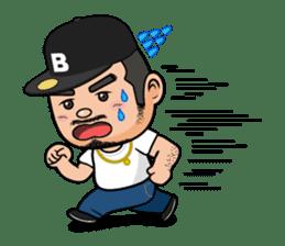 GO!GO! RIKKUN sticker #116618