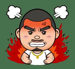 GO!GO! RIKKUN sticker #116620
