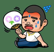 GO!GO! RIKKUN sticker #116630