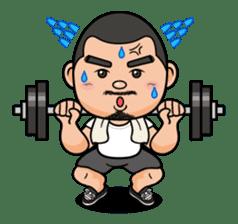 GO!GO! RIKKUN sticker #116635