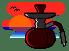 SHISHA & HOOKAH sticker #116680
