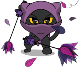 NINJA Nyankko sticker #116914