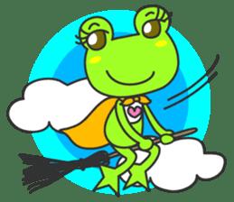 """""""KAERUN"""" of a frog sticker #117297"""