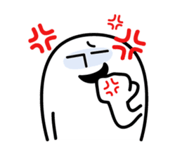 Shirokuro-san sticker #117304