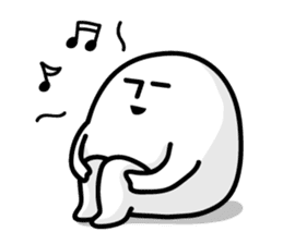 Shirokuro-san sticker #117306