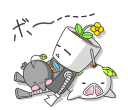 Every day of bucket and pleasant friends sticker #117350
