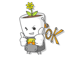 Every day of bucket and pleasant friends sticker #117352