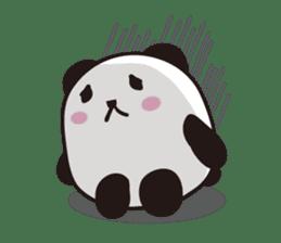 marukko panda sticker #117968