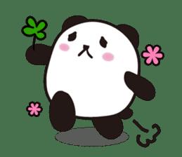 marukko panda sticker #117974